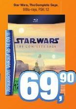 Star Wars: The Complete Saga I-VI (Blu-Ray) für 69,90€ [LOKAL]