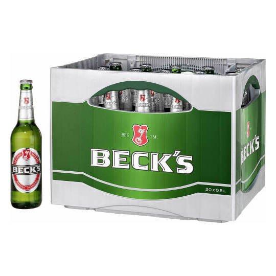 Oldenburg - Beck's Bier versch. Sorte - bei AktivIrma (Plopp)