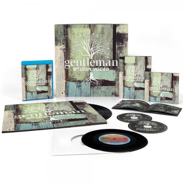 "Gentleman - MTV Unplugged (Limited Collector's Box) (2CD + DVD + Blu-ray + 4LP + Single 7"") für nur 36,99€"