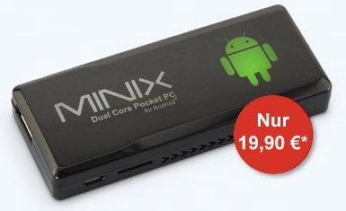 Mini-PC MiniX NEO G4 in Kombination mit 1blu und Qipu
