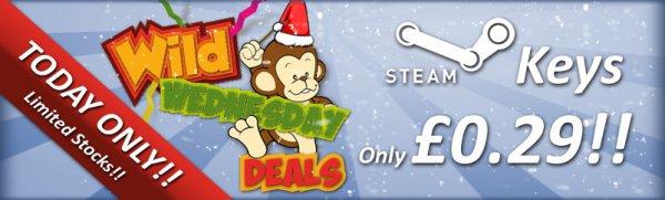 [Steam] 7 Spiele für je 29p (ca. 37 Cent) @ simplycdkeys