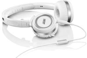 @Amazon UK: AKG K452 High-Performance On-Ear Headphones with In-line Microphone - White für rund 39€ inkl. Lieferung