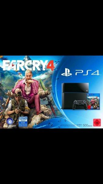 Sony Playstation 4 / PS4 + Far Cry 4 (Bundle) 9869214 - ebay Wow