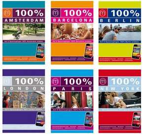 100 % Reiseführer-Paket - Amsterdam, Barcelona, Berlin, London, Paris, New York für 14,99 € @terrashop.de
