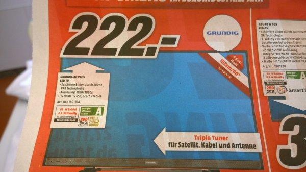 [Lokal: München] Grundig 40 VLE5 LED TV