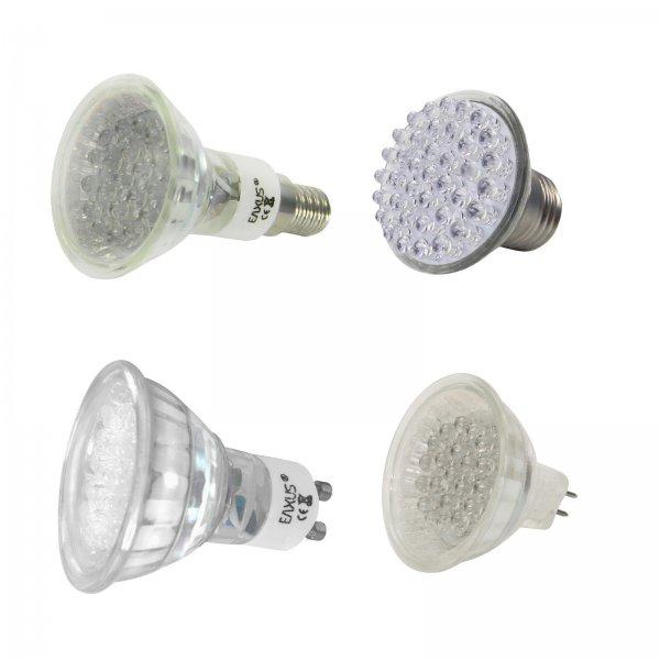 LED Strahler 1,49 € - verschiedene Sockel - zzgl. 2,99 Versand