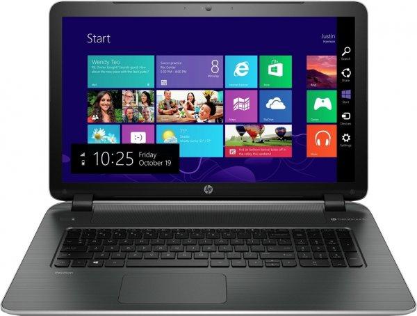 """HP Pavilion 17-f158ng (K3H72EA) für 333€ - 17,3"""" Notebook mit HD+ Display, AMD Quad-Core und AMD Radeon R3-Grafik"""