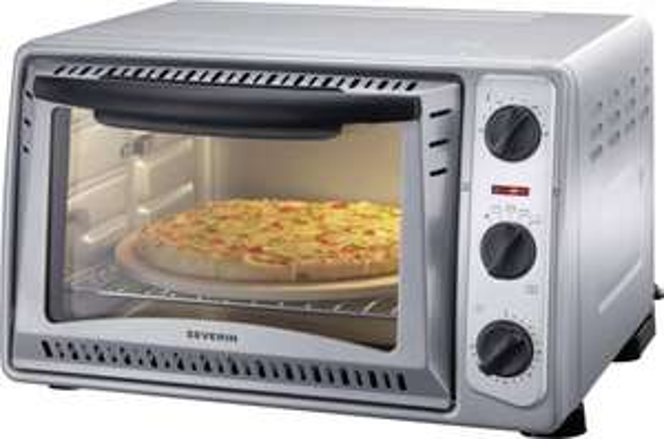 [voelkner] Severin TO 9483 Minibackofen mit Grillspieß, Heißluft inkl. Pizza-Stein