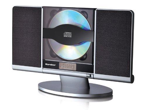 Blitzangebot: Karcher MC 6512 Vertikale Kompaktanlage (CD-Player, PLL-Radio, SD-Kartenleser, USB) silber/schwarz @ 49,99 Euro inkl. Versand  - Cyber Monday