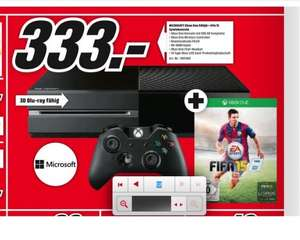 Xbox One + Fifa 15 DL Code - Media Markt Herzogenrath 333 Euro