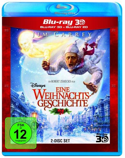Disneys Eine Weihnachtsgesc?hichte (+ Blu-ray 2D) [Blu-ray 3D] für 13,13 (Prime)