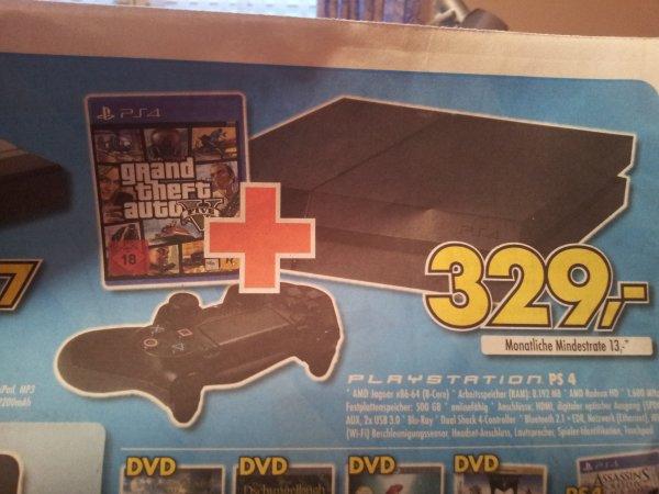 PS 4 + GTA V (lokal)