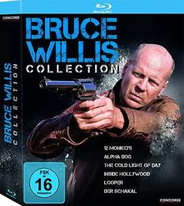 Bruce Willis Collection [Blu-ray] für 14,59€ @Amazon Prime
