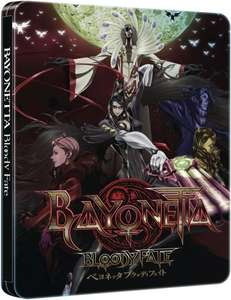 Bayonetta: Bloody Fate - Collector's Edition Steelbook Blu-ray - [UK IMPORT] für 28,15€ @thehut.de