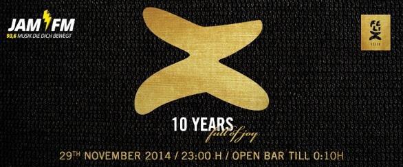 (Berlin) FELIX ClubRestaurant: kostenloser Eintritt zum 10jährigen Jubiläum