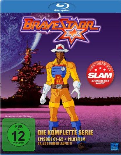 Wieder da @Amazon: Bravestarr - Die komplette Serie Episoden 1-65 + Pilotfilm Blu-ray für 14,99€/Prime oder 17,99€/ohne Prime