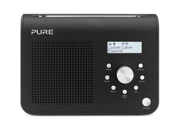 Pure One Classic II Tragbares Kompaktradio (DAB/DAB+/UKW mit RDS, 1,6 Watt, 30 Speicherplätze) schwarz für 44,48 € @Amazon.co.uk