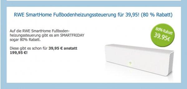 RWE SmartFriday am 28.11.2014 - bis zu 80% Rabatt