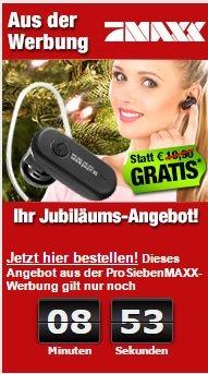 Bluetooth Headset für 4,90 € inkl. Versand [SCHNELL SEIN]