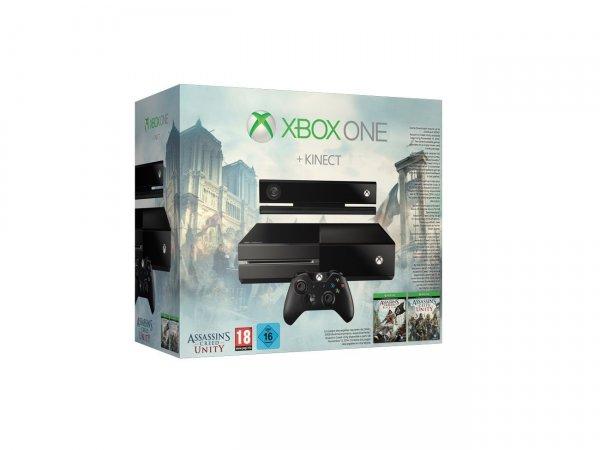 Xbox One mit Kinect, Assasins Black Flag + Unity und COD:Ghosts