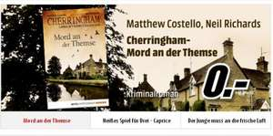 [Media Markt] Gratis ebook: Cherringham - Mord an der Themse von Matthew Costello und Neil Richards