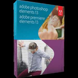 Adobe Photoshop Elements 13 & Premiere Elements 13 54,85€[zackzack]