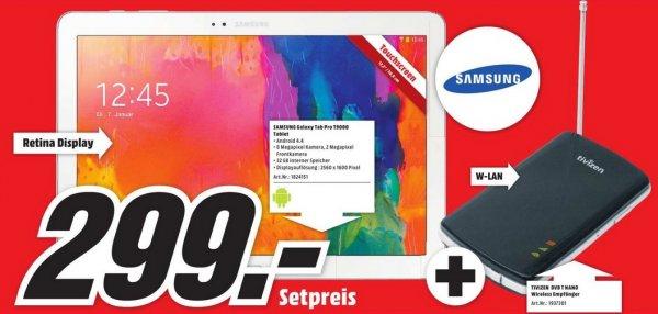 [lokal München] Samsung T9000 Galaxy Tab Pro 12.2 WiFi 32GB + Tivizen DVB-T Empfänger für 299€ @ Media Markt