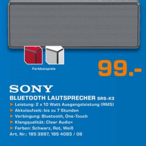 Sony srs-x 3 Bluetooth Lautsprecher bei Saturn Sankt Augustin