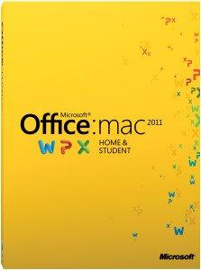 (Rakuten) Microsoft Office MAC 2011 Home and Student für 1 MAC als Download