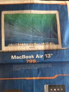 "[lokal Stuttgart/Esslingen] MacBook Air 13"" im Saturn"