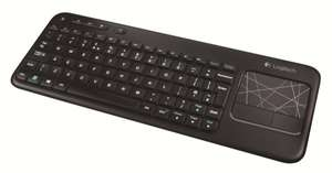 Logitech K400 Wireless Touch Tastatur (QWERTZ, deutsches Tastaturlayout) schwarz - Amazon - Cyber Monday ab 12:30