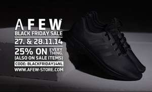 25% Afew-Store 27+28 Nov. Black Friday Sale