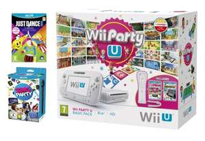 Nintendo Wii U Basic Party U Pack inkl. Just Dance 2015, Sing Party U + Mikro, Wii Party U, Nintendoland + Wiimote Plus für ca. 231,50€ @amazon.co.uk als preorder (Release 5.12.)