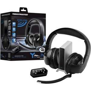 Thrustmaster Headset Y400P wireless - schwarz für Playstation® 4, Playstation® 3, PC, Mac, Netbook, Tablet
