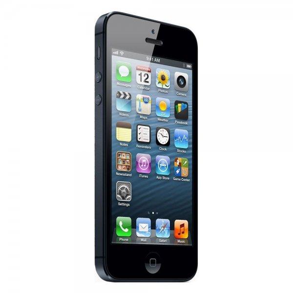 Apple iPhone 5 64GB für 379,- € VK - Frei, Weiß & Schwarz beim eBay - WoW