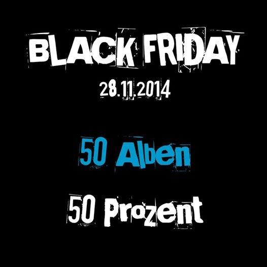 [Jetzt Live] 50 Alben | 50 % Rabatt! Musik-Downloads bei artistxite.de #BlackFriday