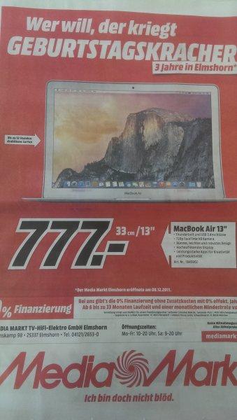 "[Local] MacBook Air 13"" MD760 -> 777,- [Media Markt Elmshorn]"