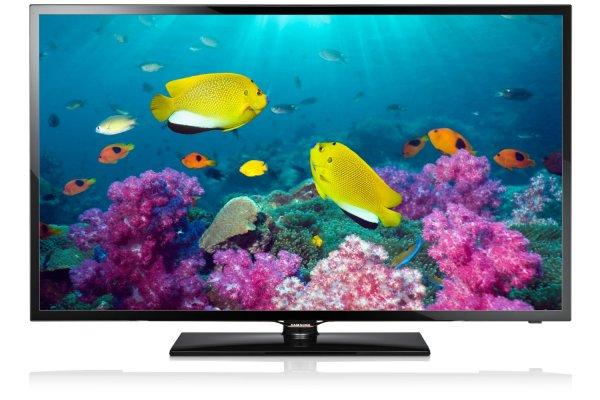 Samsung UE46F5070 116 cm (46 Zoll) LED-Backlight-Fernseher, EEK A+ (Full HD, 100Hz CMR, DVB-T/C/S2, CI+) schwarz @ Amazon WHD
