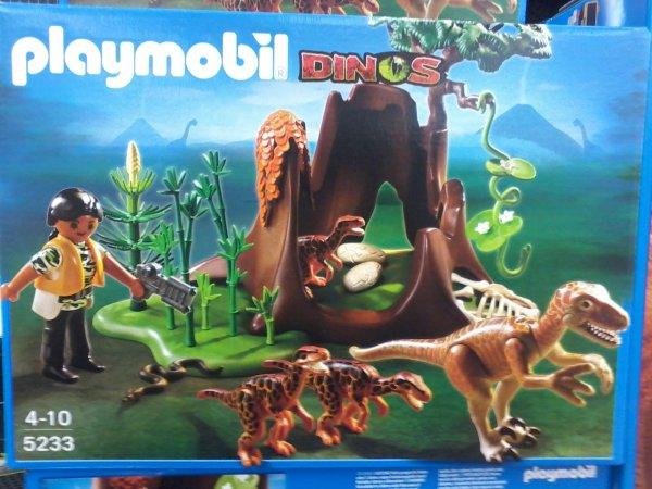 (real - Gerlingen) Playmobil 5233 Velociraptor Angriff auf Deinonchus