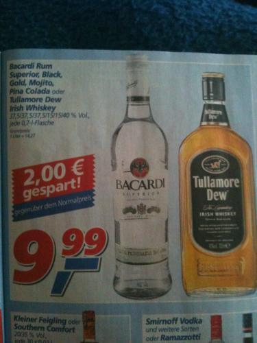 (offline) Tullamore Dew Irish Whisky für 9,99 € im Real-Markt