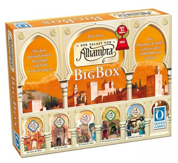 [amazon] Queen Games 6037 - Alhambra-Big Box, Spiel des Jahres 2003