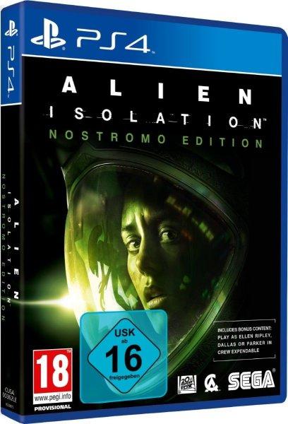 Alien: Isolation [Nostromo Edition] PS4 von eBay 38,50 € VK - Frei Neu für Playstation 4