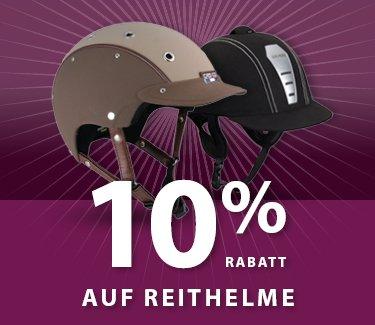 10% Rabatt auf Reitstiefel und Reithelme bei Equiva