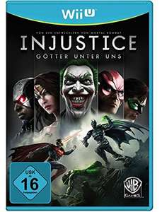 Injustice: Götter Unter Uns Wii U für 9,97€ @ amazon.de Cyber Monday Deals (Bestpreis D)