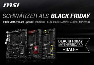 MSI Black Friday Motherboard Sale bei arlt.com (3 verschiedene MSI X99S Boards) z.B MSI X99S Gaming 7 für 219.-