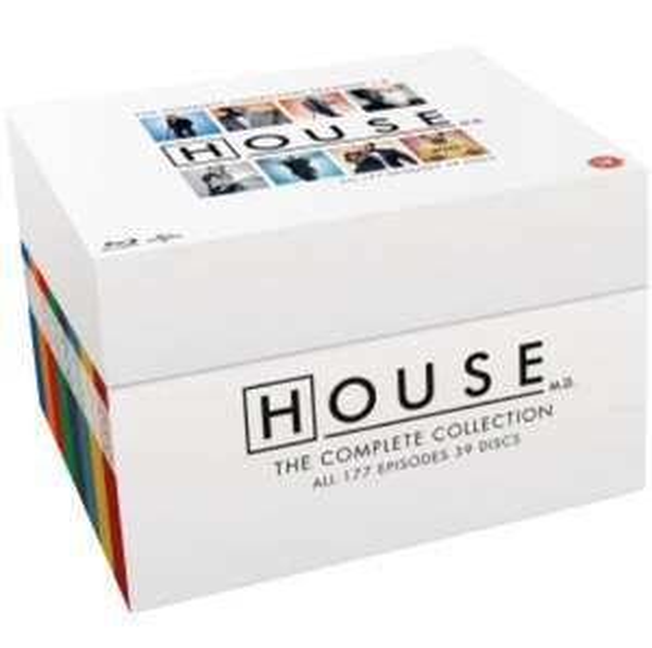 Dr. House komplette Serie auf Bluray mit dt. Tonspur [Zavvi.com]