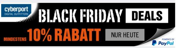 Cyberport.de Black Friday - iPhone 6 Plus 16GB 719€ + Haufenweise gute Angebote