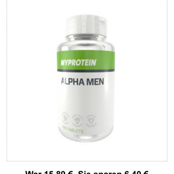 Black Friday: Bei Myprotein! z.B. Alpha Men Kapseln, ca. 6€ billiger!