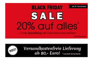 Blackfriday-Sale bei Miss Mole