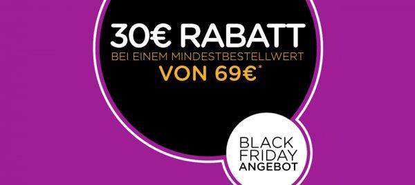 Crocs.de 30€ Rabatt ab 69,- Euro Mindestbestellwert *Black Friday*